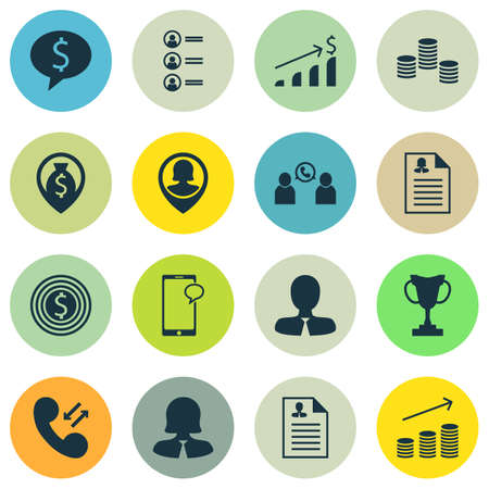 applicant: Set Of Human Resources Icons On Money, Tournament And Job Applicants Topics. Editable Vector Illustration. Includes Cellular, Pin, Opinion And More Vector Icons.