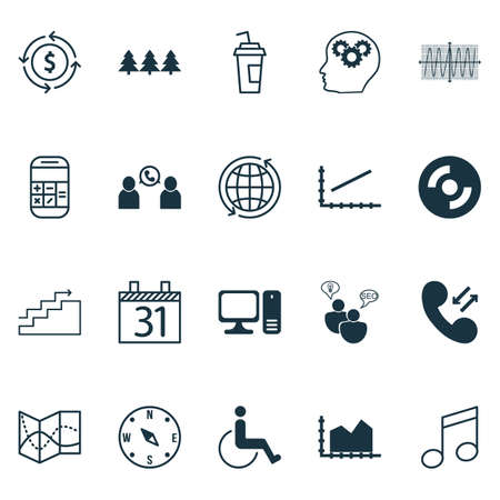 cosinus: Set Of 20 Universal Editable Icons. Can Be Used For Web, Mobile And App Design. Includes Icons Such As Calculation, World, Cosinus Diagram And More.