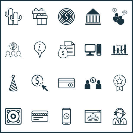 time sharing: Set Of 20 Universal Editable Icons. Can Be Used For Web, Mobile And App Design. Includes Icons Such As Call Duration, Music, Education Center And More.