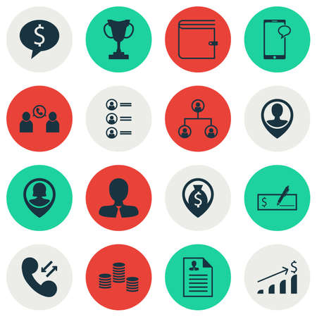 list of successful candidates: Set Of Management Icons On Money, Bank Payment And Employee Location Topics. Editable Vector Illustration. Includes Growth, Career, Applicants And More Vector Icons.