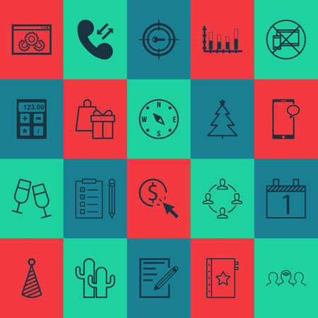 ppc: Set Of 20 Universal Editable Icons. Can Be Used For Web, Mobile And App Design. Includes Icons Such As Collaboration, PPC, Cacti And More.