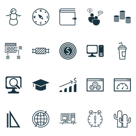 graduation countdown: Set Of 20 Universal Editable Icons. Can Be Used For Web, Mobile And App Design. Includes Icons Such As Winter, Website Performance, SEO Brainstorm And More.