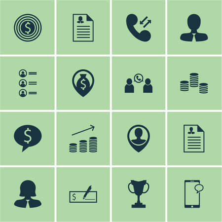 more money: Set Of Human Resources Icons On Business Woman, Money And Tournament Topics. Editable Vector Illustration. Includes Chat, Applicants, Money And More Vector Icons.