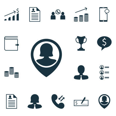 sms payment: Set Of Management Icons On Job Applicants, Bank Payment And Business Deal Topics. Editable Vector Illustration. Includes Applicants, Growth, Chat And More Vector Icons.