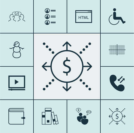 armchair shopping: Set Of 12 Universal Editable Icons. Can Be Used For Web, Mobile And App Design. Includes Icons Such As Wallet, Square Diagram, Money And More.