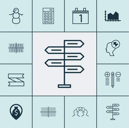 cosinus: Set Of 12 Universal Editable Icons. Can Be Used For Web, Mobile And App Design. Includes Icons Such As Cosinus Diagram, Opportunity, Blank Ribbon And More.