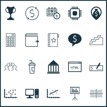 circuit sale: Set Of 20 Universal Editable Icons. Can Be Used For Web, Mobile And App Design. Includes Icons Such As Chip, Education Center, Growth And More.