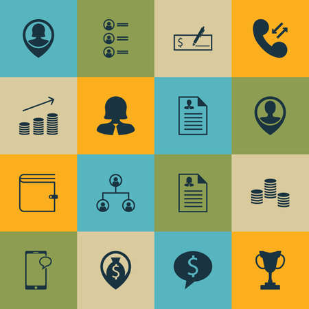 first form: Set Of Hr Icons On Employee Location, Coins Growth And Bank Payment Topics. Editable Vector Illustration. Includes User, Check, Organisation And More Vector Icons.