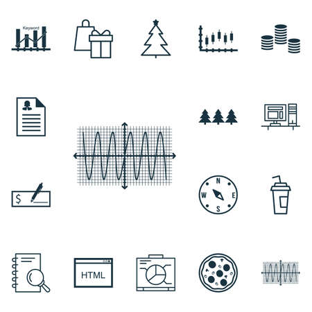 Set Of 16 Universal Editable Icons. Can Be Used For Web, Mobile And App Design. Includes Icons Such As Board, Pizza Meal, Money And More.
