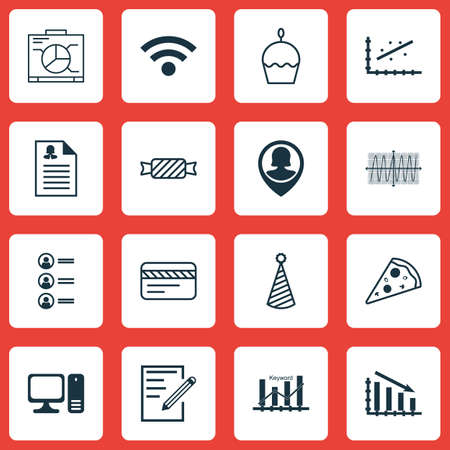 list of successful candidates: Set Of 16 Universal Editable Icons. Can Be Used For Web, Mobile And App Design. Includes Icons Such As Paper, Female Application, Pin Employee And More.