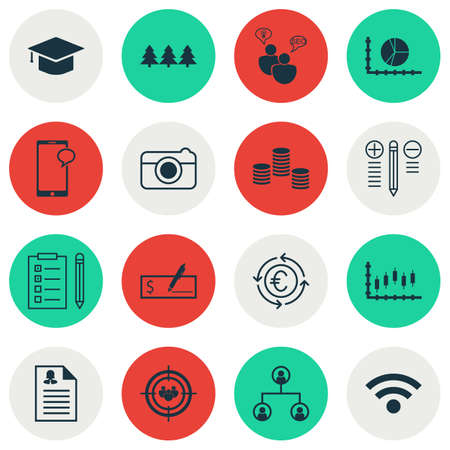 application recycle: Set Of 16 Universal Editable Icons. Can Be Used For Web, Mobile And App Design. Includes Icons Such As Currency Recycle, Graduation, Female Application And More.