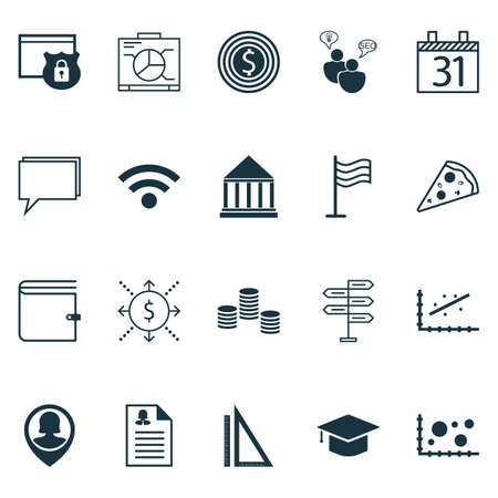 pin board: Set Of 20 Universal Editable Icons. Can Be Used For Web, Mobile And App Design. Includes Icons Such As Pin, Board, Date And More.