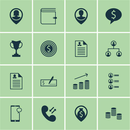 list of successful candidates: Set Of Management Icons On Pin Employee, Money And Tree Structure Topics. Editable Vector Illustration. Includes Application, Job, Cellular And More Vector Icons.