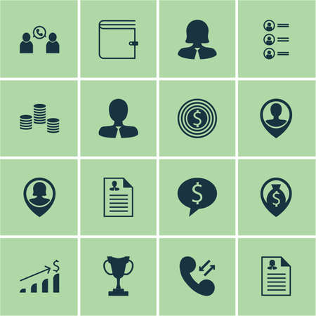 winning bid: Set Of Human Resources Icons On Curriculum Vitae, Tournament And Money Navigation Topics. Editable Vector Illustration. Includes Employee, Pin, Opinion And More Vector Icons.