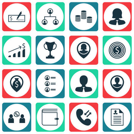 list of successful candidates: Set Of Hr Icons On Pin Employee, Business Woman And Curriculum Vitae Topics. Editable Vector Illustration. Includes Female, Employee, Goal And More Vector Icons.