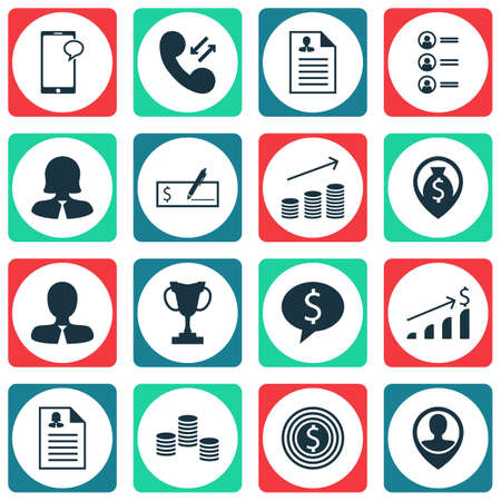 list of successful candidates: Set Of Hr Icons On Employee Location, Job Applicants And Manager Topics. Editable Vector Illustration. Includes Resume, Dollar, Application And More Vector Icons.