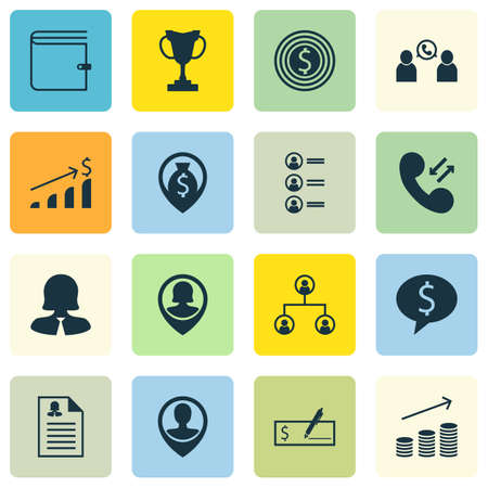 pay raise: Set Of Human Resources Icons On Money Navigation, Phone Conference And Business Woman Topics. Editable Vector Illustration. Includes Check, Map, Increase And More Vector Icons.