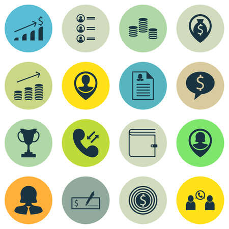 Set Of Hr Icons On Job Applicants, Wallet And Business Goal Topics. Editable Vector Illustration. Includes Conference, Stacked, Goal And More Vector Icons.
