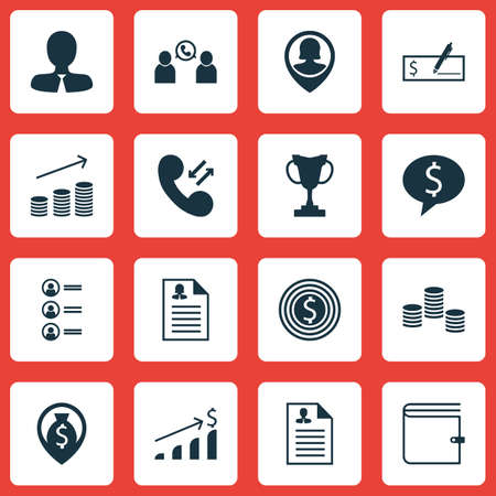 applicant: Set Of Human Resources Icons On Business Goal, Female Application And Job Applicants Topics. Editable Vector Illustration. Includes Pin, Prize, Male And More Vector Icons. Illustration