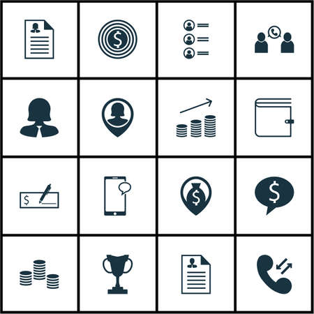list of successful candidates: Set Of Management Icons On Tournament, Business Goal And Bank Payment Topics. Editable Vector Illustration. Includes Career, Coins, Discussion And More Vector Icons.