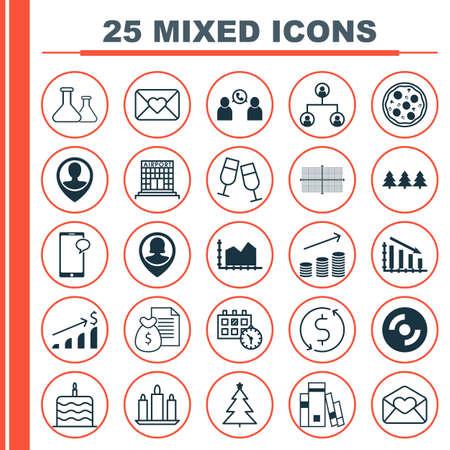 Set di 25 icone modificabili universali. Può essere utilizzato per Web, Mobile e App Design. Include icone come costruzione di aeroporto, trasferimento di denaro, prodotti chimici e altro ancora.
