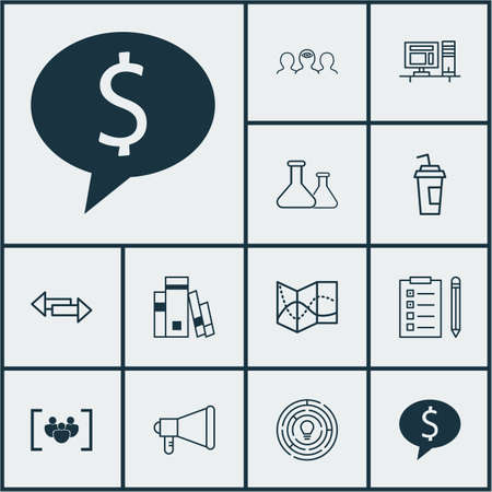 medical evaluation: Set Of 12 Universal Editable Icons. Can Be Used For Web, Mobile And App Design. Includes Icons Such As Library, Announcement, Computer And More. Illustration