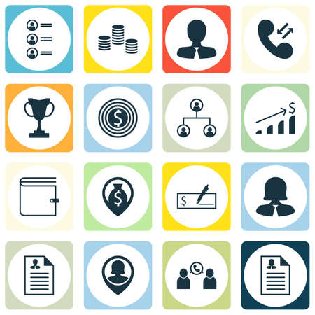 first form: Set Of Management Icons On Tree Structure, Successful Investment And Tournament Topics. Editable Vector Illustration. Includes Coins, Success, Organisation And More Vector Icons.