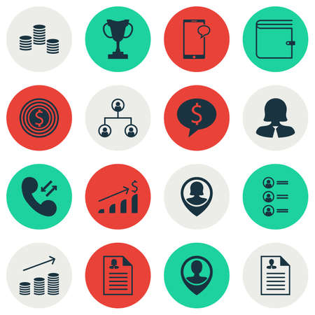 list of successful candidates: Set Of Hr Icons On Messaging, Coins Growth And Job Applicants Topics. Editable Vector Illustration. Includes List, Mobile, Growth And More Vector Icons.