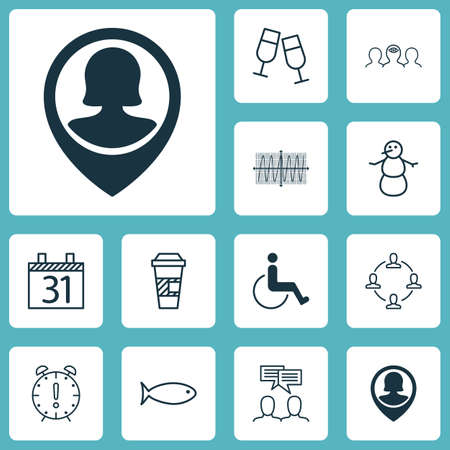 Set Of 12 Universal Editable Icons. Can Be Used For Web, Mobile And App Design. Includes Icons Such As Collaboration, Discussion, Coaching And More.