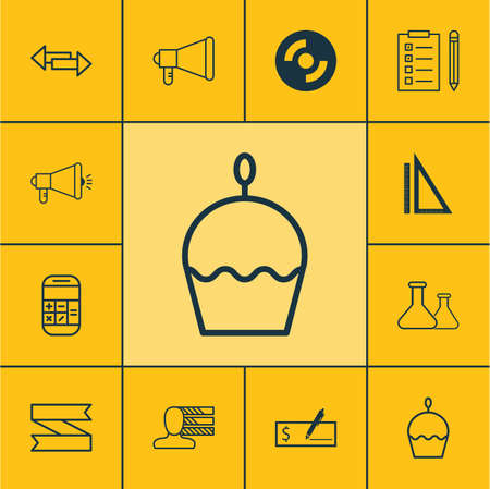 crossroad: Set Of 12 Universal Editable Icons. Can Be Used For Web, Mobile And App Design. Includes Icons Such As Personal Skills, Crossroad, Media Campaign And More. Illustration