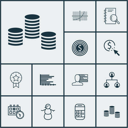 debt collection: Set Of 12 Universal Editable Icons. Can Be Used For Web, Mobile And App Design. Includes Icons Such As Money, Bars Chart, PPC And More.