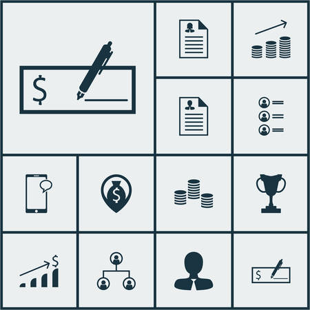 ability to speak: Set Of Hr Icons On Tree Structure, Coins Growth And Curriculum Vitae Topics. Editable Vector Illustration. Includes Stacked, Coins, Career And More Vector Icons. Illustration