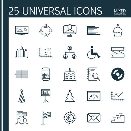 infirm: Set Of 25 Universal Editable Icons. Can Be Used For Web, Mobile And App Design. Includes Elements Such As Changes Graph, Analysis, Collaboration And More.