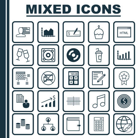 project charter: Set Of 25 Universal Editable Icons. Can Be Used For Web, Mobile And App Design. Includes Elements Such As Investment, Money, Financial And More.