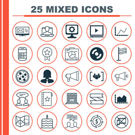 burning money: Set Of 25 Universal Editable Icons. Can Be Used For Web, Mobile And App Design. Includes Elements Such As PC, Pizza Meal, Board And More.
