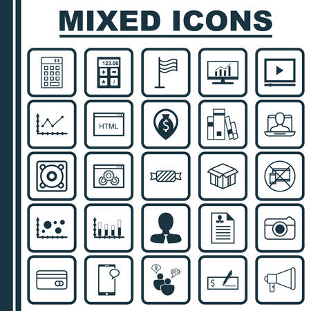 application recycle: Set Of 25 Universal Editable Icons. Can Be Used For Web, Mobile And App Design. Includes Elements Such As Forbidden Mobile, Curriculum Vitae, Coding And More.