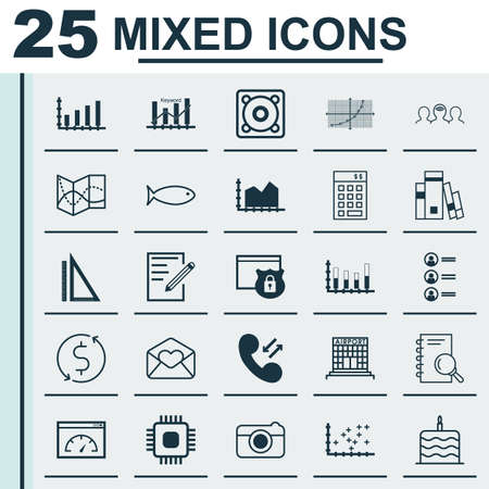 fishing area: Set Of 25 Universal Editable Icons. Can Be Used For Web, Mobile And App Design. Includes Elements Such As Money Trasnfer, Line Grid, Investment And More.