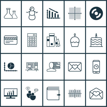 burning money: Set Of 20 Universal Editable Icons. Can Be Used For Web, Mobile And App Design. Includes Elements Such As Wallet, Winter, Fail Graph And More.
