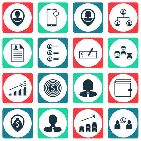 ability to speak: Set Of 16 Human Resources Icons. Can Be Used For Web, Mobile, UI And Infographic Design. Includes Elements Such As Money, Chat, Male And More.