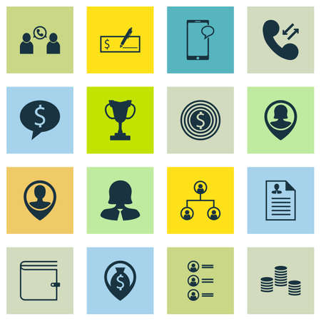 list of successful candidates: Set Of 16 Human Resources Icons. Can Be Used For Web, Mobile, UI And Infographic Design. Includes Elements Such As Money, Applicants, Mobile And More.