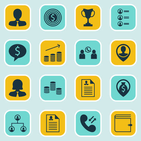 ability to speak: Set Of 16 Human Resources Icons. Can Be Used For Web, Mobile, UI And Infographic Design. Includes Elements Such As Purse, User, Male And More.