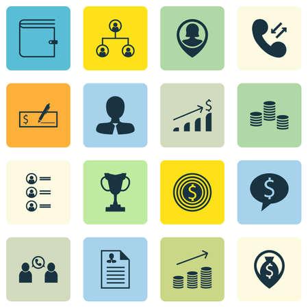 Ensemble de 16 icônes de ressources humaines. Peut être utilisé pour le Web, Mobile, UI et conception infographique. Inclut des éléments tels que la carte, l'utilisateur, la croissance et plus encore.