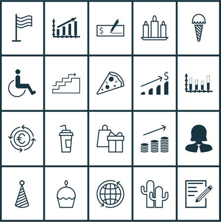 frozen food: Set Of 20 Universal Editable Icons. Can Be Used For Web, Mobile And App Design. Includes Elements Such As Frozen Food, World, Segmented Bar Graph And More.