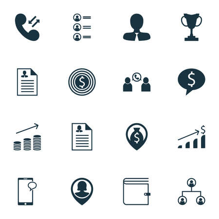 winning bid: Set Of 16 Hr Icons. Can Be Used For Web, Mobile, UI And Infographic Design. Includes Elements Such As Mobile, Purse, Employee And More.