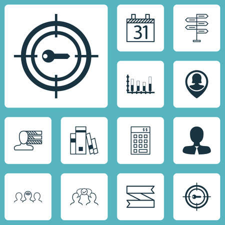 segmented: Set Of 12 Universal Editable Icons. Can Be Used For Web, Mobile And App Design. Includes Elements Such As Library, Pin Employee, Segmented Bar Graph And More.