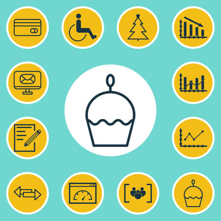 Set Of 12 Universal Editable Icons. Can Be Used For Web, Mobile And App Design. Includes Elements Such As Crossroad, Fail Graph, Email And More.
