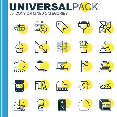 branching: Set Of 25 Universal Editable Icons. Can Be Used For Web, Mobile And App Design. Includes Elements Such As Branching Program, Relax Chair, Withdraw Money And More.