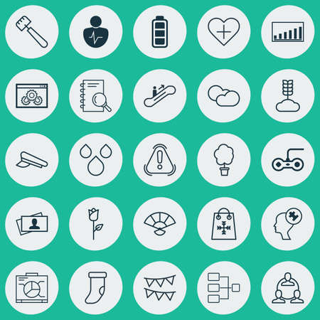 a cudgel: Set Of 25 Universal Editable Icons. Can Be Used For Web, Mobile And App Design. Includes Elements Such As Human Mind, Moving Staircase, Trading And More.