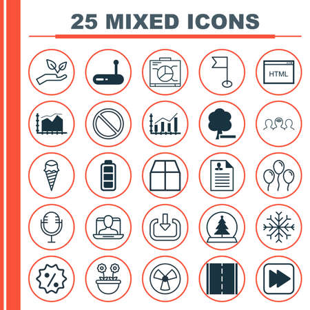 provide: Set Of 25 Universal Editable Icons. Can Be Used For Web, Mobile And App Design. Includes Elements Such As Herb, Cardboard, Save World And More. Illustration