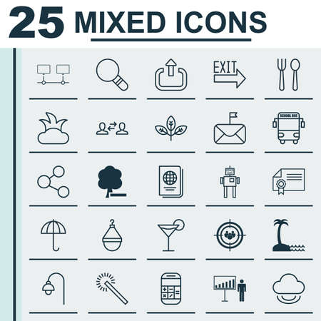 Set Of 25 Universal Editable Icons. Can Be Used For Web, Mobile And App Design. Includes Elements Such As Hanger, Gingham, Focus Group And More.